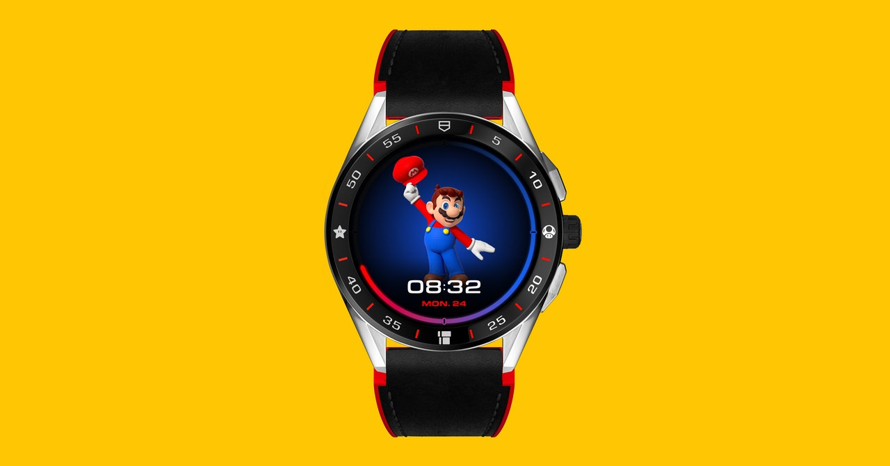 Tag Heuer's Latest Smartwatch Play? Super Mario