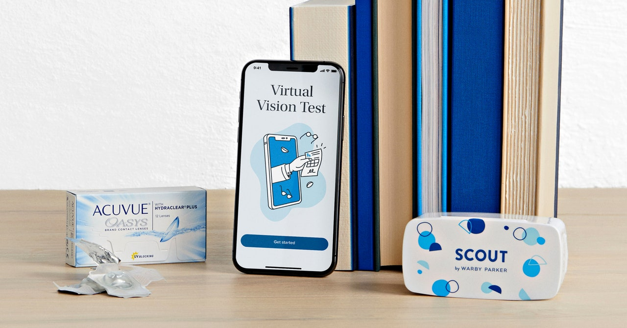 Warby Parker Revamps Its Eye Exam App—and Bets on Telehealth